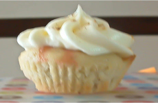Strawberry-Banana Cupcakes