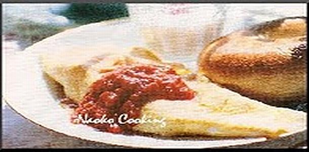 Feta Tomato Omelet