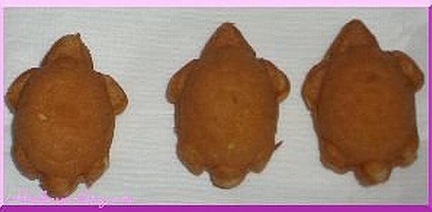 Turtle Castella (Sponge Cake)