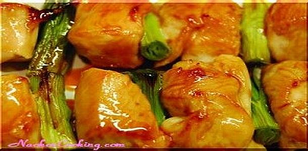Japanese Yakitori (Skewered, Grilled Chicken)