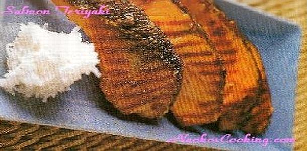 Japanese Recipe Called Salmon Teriyaki