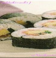Making Japanese Sushi Roll (Maki Zushi)