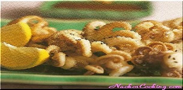 Marinated Deep-fried Baby Octopus