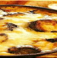 Eggplant Gratin with Miso Sauce