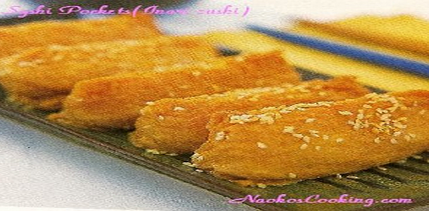 How to make Stuffed Sushi Pocket Inari Zushi