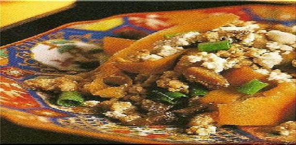 Stir-Fried Tofu with Vegetable