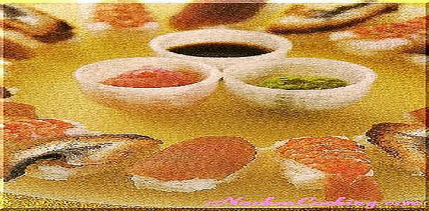 Sushi Making Nigiri-Sushi