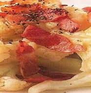 Fried Cauliflower with Bacon カリフラワーのベーコン炒め