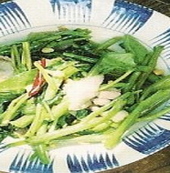 Fried Water Spinach 空心菜炒め