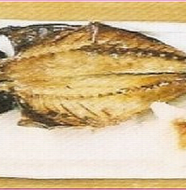 Grilled Dried horse mackerel 鯵の干物