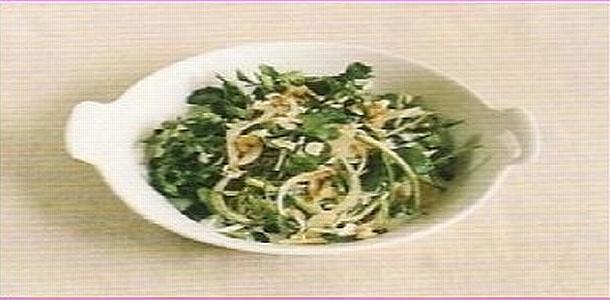 Watercress and Onion Salad クレソンと玉葱のサラダ