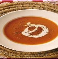 Carrot soup にんじんスープ