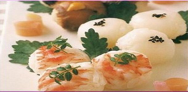 Hand-Rolled Sushi Balls 手まり寿司