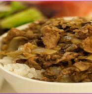 Beef Bowl 牛丼