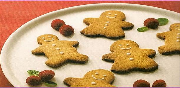 Gingerbread Men ジンジャーマンクッキー