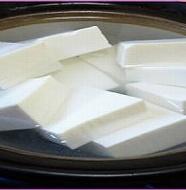 Simmering Tofu 湯豆腐