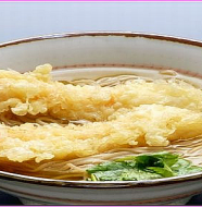 Soba Noodles with Tempura 天ぷらそば