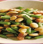 Soy Beans and Kidney Bean Salad