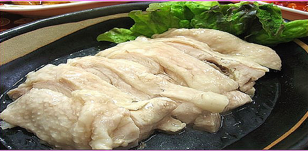 Steamed Chicken 蒸し鶏