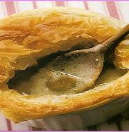 Wrapped Mushroom Soup つぼ焼きマッシュルームスープ
