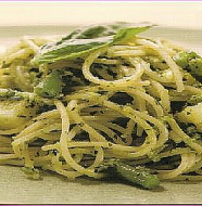 Pasta with Pesto パスタジェノベーゼ