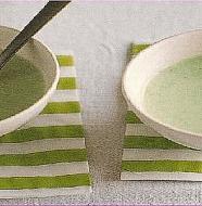 Edamame and Yogurt Soup 枝豆とヨーグルトのスープ