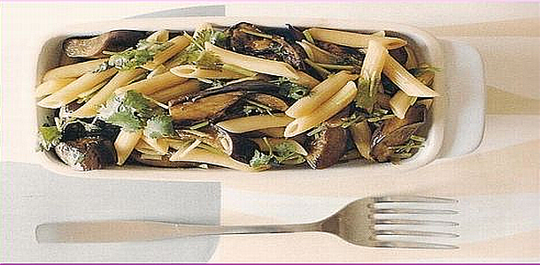 Penne Pasta with Balsamico Style ペンネのバルサミコソース