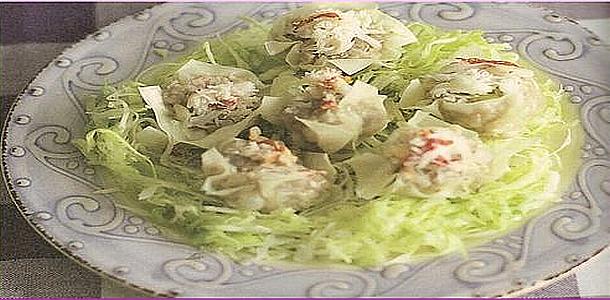 Steam Crab dumpling かにシューマイ