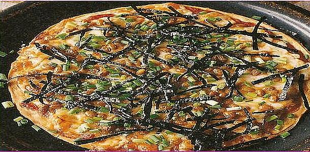 Natto Pizza 納豆ピザ