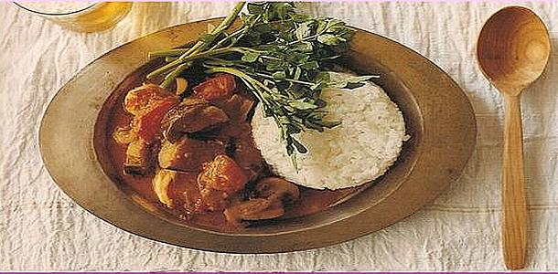 Shrimp and Tomato Curry エビトマトカレー