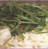 White Radish and Scallops Salad 大根とホタテのサラダ