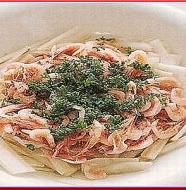 Sakura Shrimp and Bourdock Salad