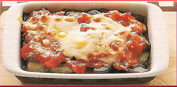 Eggplant and Tomato Guratan 茄子とトマトのグラタン