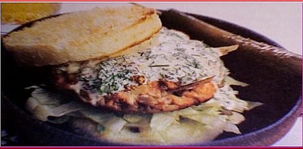 Salmon Burger サーモンバーガー