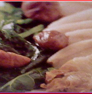Steamed Pork and Rape 豚バラと菜の花の蒸し物