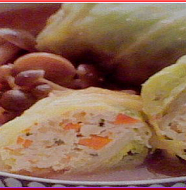 Chicken Rolled Cabbage チキンロールキャベツ