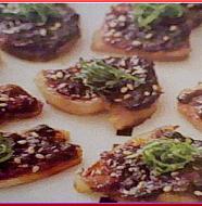 Pork with Plum and Miso 豚肉の梅味噌田楽