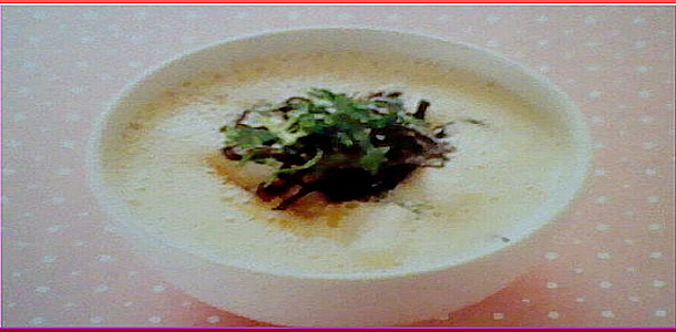 Soy Milk Soup with Yam 山芋の豆乳スープ