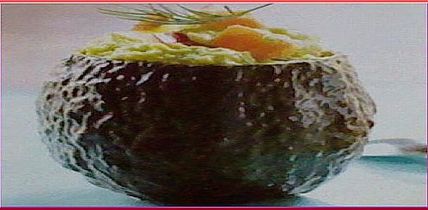Cocktail Salad with Avocado and Salmon アボカドとサーモンのカクテルサラダ