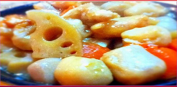 Fried Chicken and Vegetable Chikuzen Style唐揚げ入り筑前煮