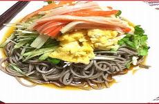 Diet Recipe#7 Japanese Soba Noodles Salad