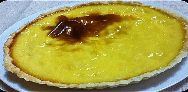 Coconut Custard Cream Pie ココナッツカスタードパイ