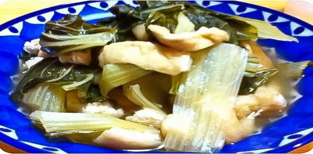 Deep-Fried Tofu and SHIRONA Dipped in Sauce