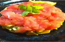 Diet Recipe#11 Tartar with Tuna and Avocado