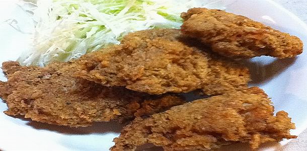 Home made Fried Chicken KFC Style 風フライドチキン