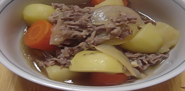Braised Meat and Vegetable 肉じゃが