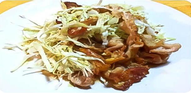 Pork Pikata Salad ポークピカタサラダ
