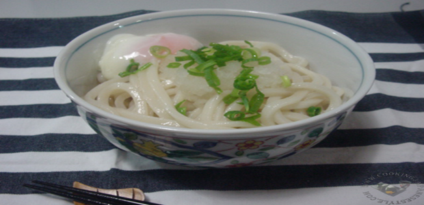 Japanese Udon with Onsen Tomago
