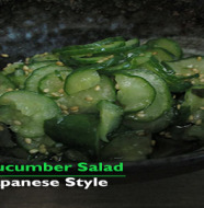 Vinegary Cucuber Salad Blog