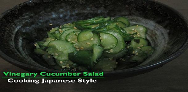 Vinegary Cucuber Salad Blog